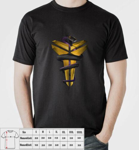 Kobe Bryant The Black Mamba New T-Shirts Cootton For Mens USA Size
