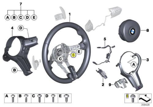 BMW 15 mm à Tête Hexagonale Boulon//Vis M12x1.75x35mm Grade 8.8 32311159951