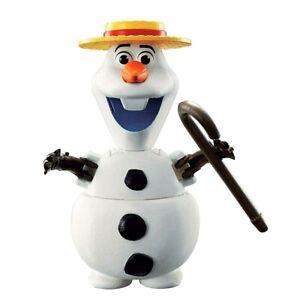 Disney-Bandai-Frozen-Olaf-Hatch-039-n-Heroes-Egg-Toy-Olaf-Figure-In-White
