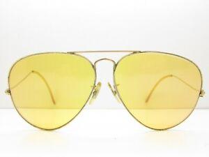 6310ac4fefe4 VINTAGE B&L RAY-BAN TEARDROP AVIATOR SUNGLASSES eyewear bausch 62-14 ...