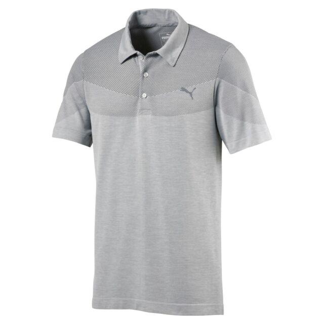 cab83b59e429 Men s PUMA Golf Evoknit Seamless Polo Shirt 2018 - Choose Size ...