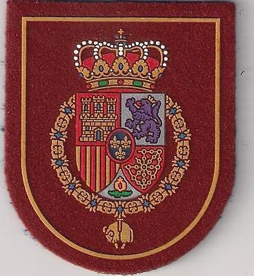 SPAIN ARMY ROYAL GUARD PHILIP VI PATCH  ROYAL ALABARDEROS ÉCUSSON