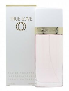 Detalles de Elizabeth Arden True Love Eau de Toilette EDT 100ML SPRAY WOMEN 'S PARA ELLA. nuevo ver título original