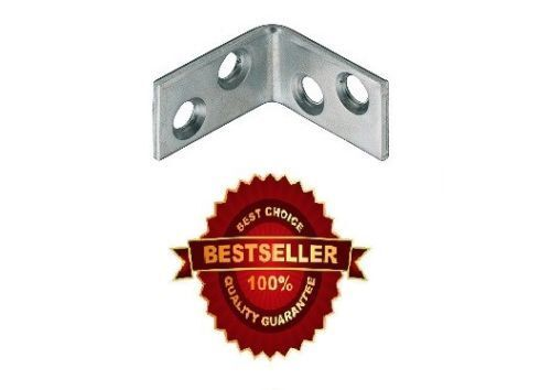 RIGHT ANGLE METAL L BRACKET 25×16 CORNER BRACE FIXING SUPPORT REPAIR BRACKET x50