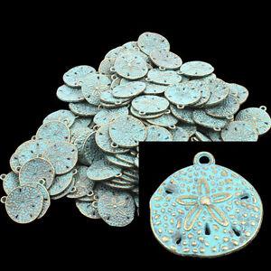 20-patine-Pendentif-pendentif-fleur-bronzefarbe-18X20MM-p00515x5