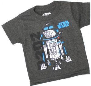 Star Wars Boy/'s Shirt The Force Awaken/'s T-Shirt Short Slv Charcoal Youth Size L