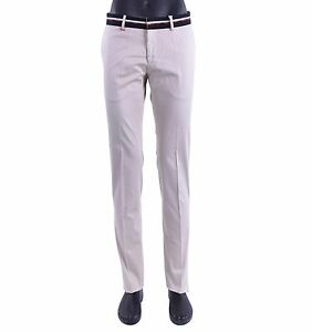 MOSCHINO-30-years-Slim-Fit-Estate-Pantaloni-Con-Logo-Beige-NERO-PANTS-05414