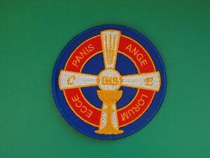 N-24-ecusson-insigne-religieux-Croisade-Eucharistique-scoutisme-scout-pelerinage