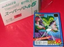Bandai Dragonball Dragon ball Z Power Level Battle 5 Regular Card Set