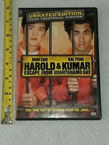DVD HAROLD AND KUMAR ESCAPE FROM GUANTANAMO BAY UNRATED ...