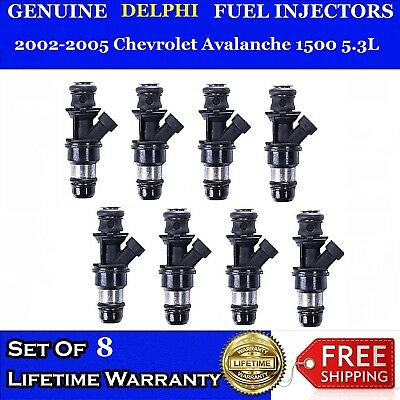 Genuine Gen II 8X Bosch Upgraded Injectors For 1996-1999 Dodge RAM 1500 5.2//5.9L