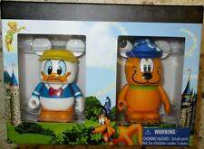Pluto w/ Mickey Sorcerer Hat Donald Duck Storybook 2 Disney VINYLMATION Box SET