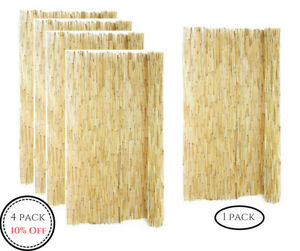Garden-Fence-Bamboo-Outdoor-Backyard-Reed-Fencing-Landscape-6-ft-H-x-16-ft-L