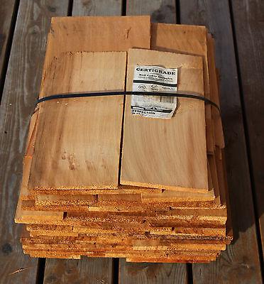 Rot-zederschindeln Gesägt 45cm Heimwerker 3.qualität Holzschindeln Gartenhaus Spielhaus Festsetzung Der Preise Nach ProduktqualitäT