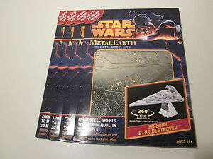 Imperial-Star-Destroyer-Star-Wars-3D-Steel-Model-Kit-Authentic-Metal-Earth-New