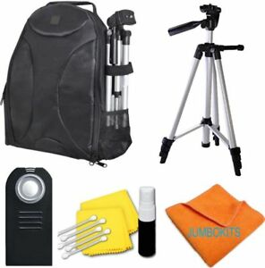 "50"" PHOTO TRIPOD + BACKPACK + REMOTE FOR CANON REBEL EOS SL1 XS XT XSI XTI 20D"