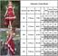 Kids-Baby-Girls-Red-Party-Dress-Princess-Wedding-Flower-Girls-Fancy-Tutu-Dress thumbnail 13