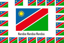 Assortment lot de10 stickers Vinyl flag stickers Namibia-Namibia