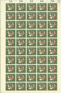 Bundesrepublik-Bund-1957-postfrisch-MiNr-250-251-kompl-Bogensatz-Kinder