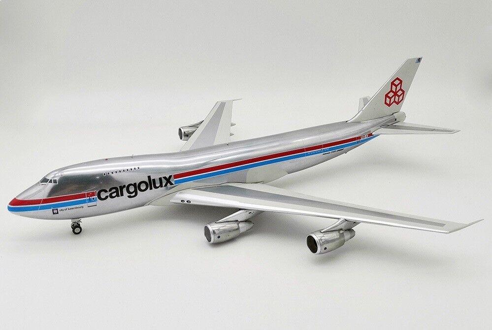 Inflight 200 IF742CV1018P 1/200 Cargolux B747-2R7F/SCD LX-DCV con soporte Ltd Edition