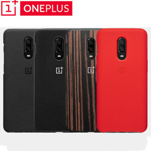 huge selection of ff408 37791 Details about 100% Official Original Oneplus 6T Case Silicone Sandstone  Nylon Karbon Cover