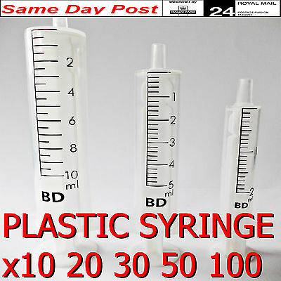 MEDICAL SYRINGES 2m 5ml 10ml 50ml 100ml Injection Sterile,Ink Cartridges,feeding