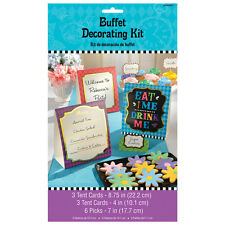 Kit de decoración de Buffet Sombrerero Loco Alicia en el país de las Maravillas Fiesta Tema Meriendas