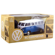 Official VW Volkswagen Campervan Remote Control Car Toy - Boxed Gift New Blue RC