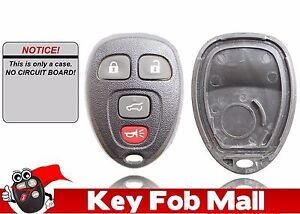NEW Keyless Entry Key Fob Remote REPAIR CASE ONLY For a 2012 Jeep Grand Cherokee