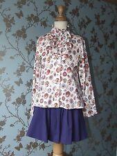 Jottum skirt + blouse size 134/140 - 9/10 years good condition purple
