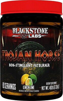 Blackstone Labs Trojan Horse LEMON LIME Non-Stim Fat Burner 30 Serving Free Ship