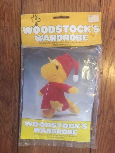 Vintage Woodstock/'s Wardrobe Night Gown /& Cap Snoopy/'s Pal 1965 NIP 60