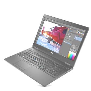 "Dell Precision 3520WS (15.6"" FHD IPS, Quad i5-7440HQ, 512GB, 16GB, Nvidia Quadro"