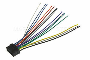 wire harness for alpine cde-9881 cde9881 *pay today ships ... alpine cde 133bt wiring diagram