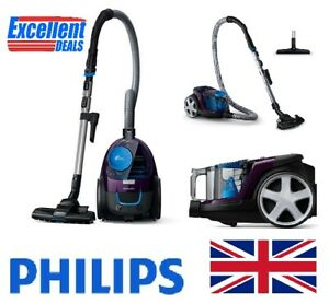 Details about @NEW Philips FC933309 PowerPro Compact Bagless vacuum cleaner purple allergy