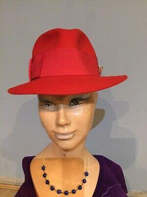 Cappello Donna Borsalino Pure Wool Felt Circolazione Del Sangue Tonificante E Arresto Del Dolore