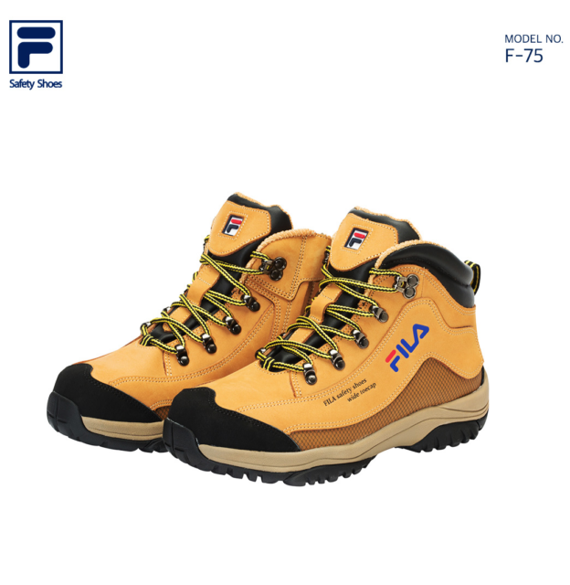 a7cf01af9d FILA Best Safety Shoes F-75 Work Boots Waterproof NANO-TEX Steel Toe US 6  -11