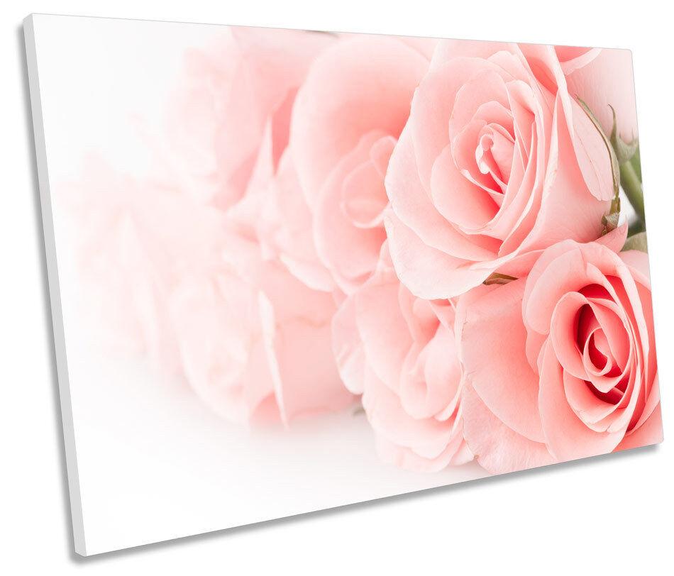 FIORI rosa rosa FLOREALE tela muro arte immagine singola stampa stampa stampa 5016d0