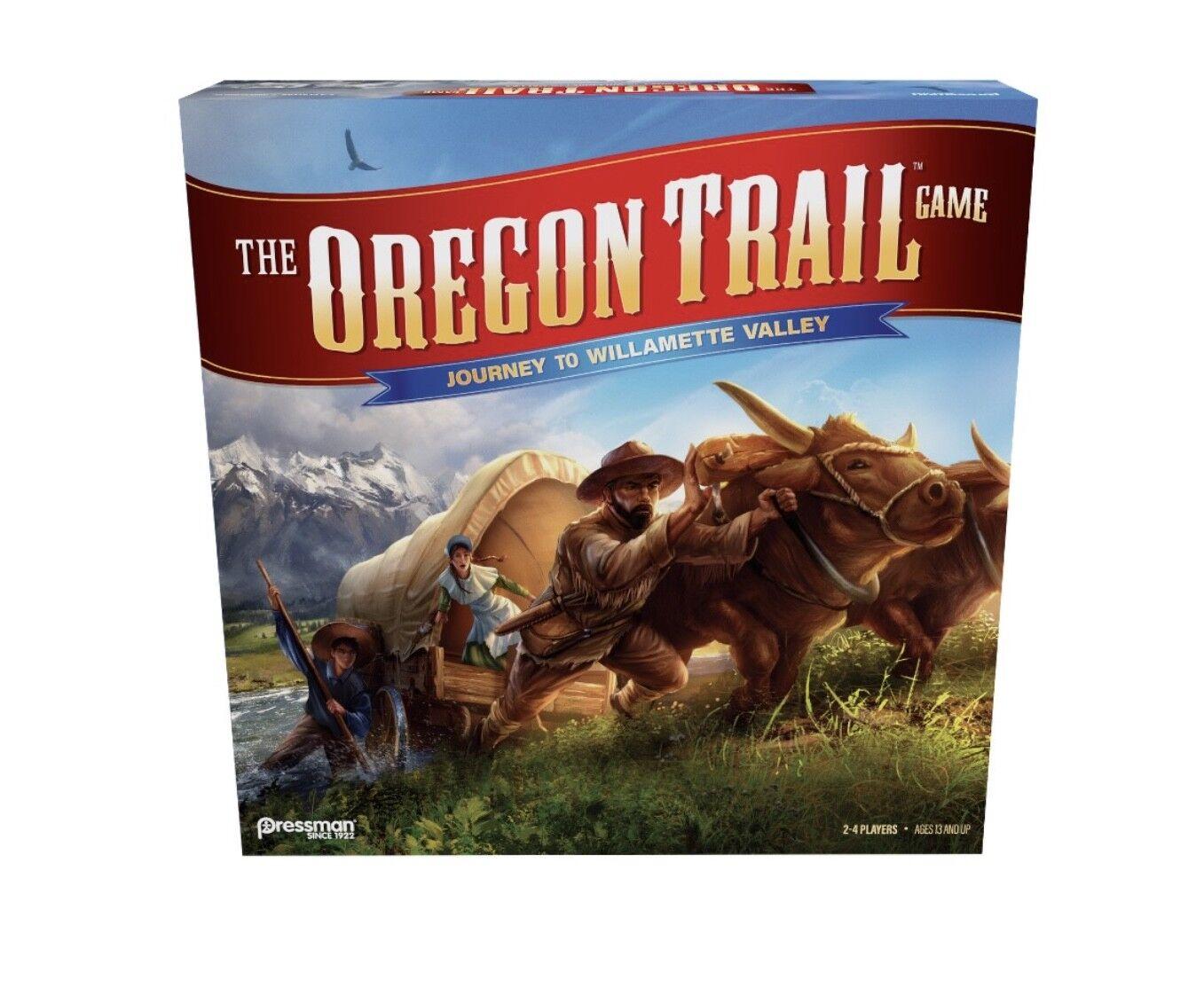 OREGON TRAIL Journey to Willamette Valley  Board Game Même Jour gratuites navire  promotions d'équipe