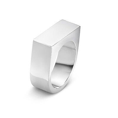 Aria #593C Wide Georg Jensen Silver Ring