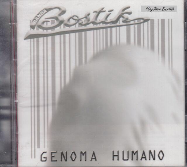 Banda BOSTIK Genoma Humano CD 2004 Denver Discos Y Cintas