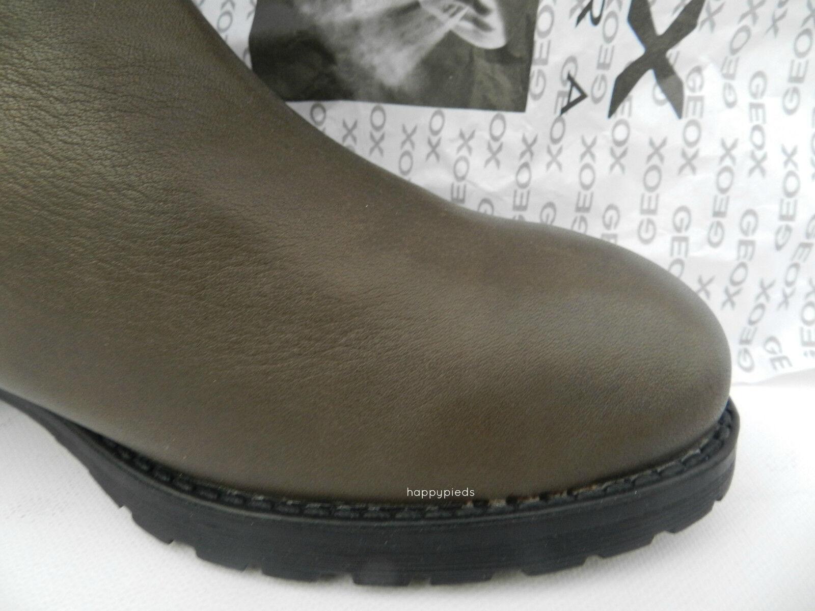 Geox D D D Haley Mi Boots 13T1U shoes Femme 40 Bottes Mollet Bottines UK7 Neuf 0c4613