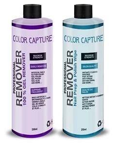 Nail-Gel-Polish-Prep-And-Wipe-amp-Remover-UV-LED-Manicure-Acetone-250ml