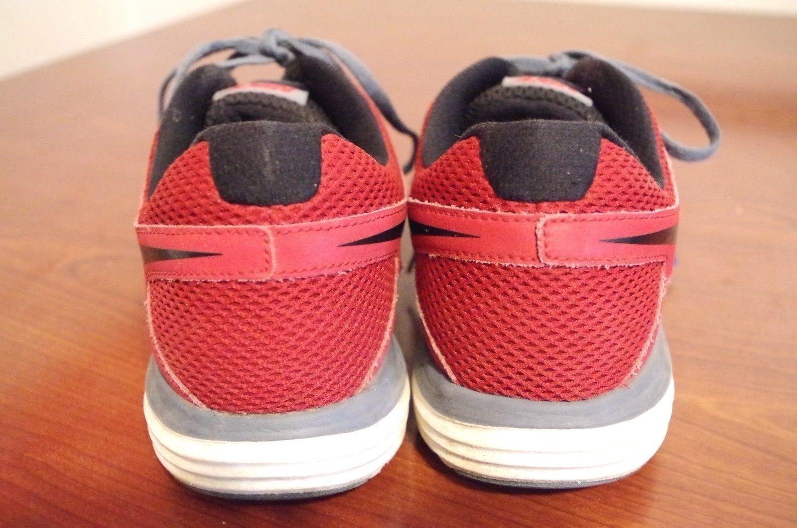 Nike doppia fusione lite uomini scarpe 9 da corsa sz noi 9 scarpe m (d) 599513-600 rosso 66042c