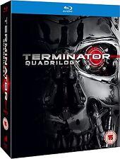 Terminator: Quadrilogy Collection 1 2 3 4 [Blu-ray Box Set Region Free, 4-Disc]