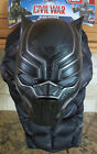 NEW Marvel Captain America Civil War Black Panther 2-Piece Kid Costume Size 4-6