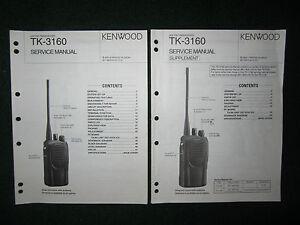 kenwood tk 3160 service repair manual set uhf fm transceiver tk 3160 rh ebay com Kenwood Tk 2160 Specs Kenwood Tk 2160 Specs