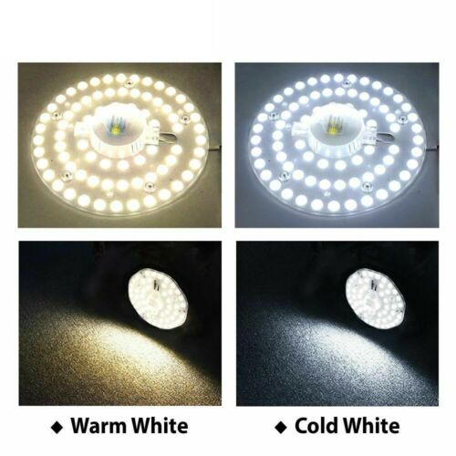 Hontiey Celling Lamp Lighting Source AC220V 12W 24W 36W LED Panel Light LED Bulb