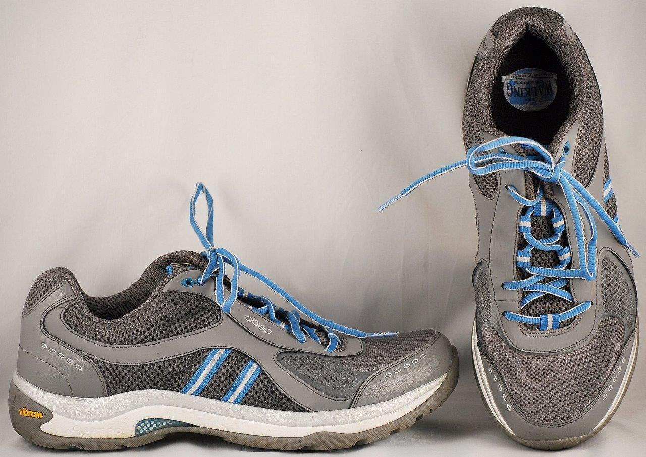 682be45a Para Mujer Zapatos Para Caminar Abeo Ace gris 9.5 M Casual ...