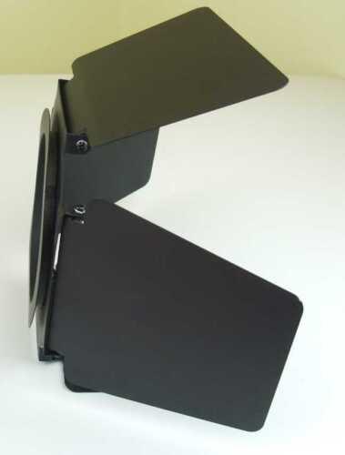 2 St PAR 30 Torblende schwarz Flügelbegrenzer Flügeltor Blendklappen Barndoor